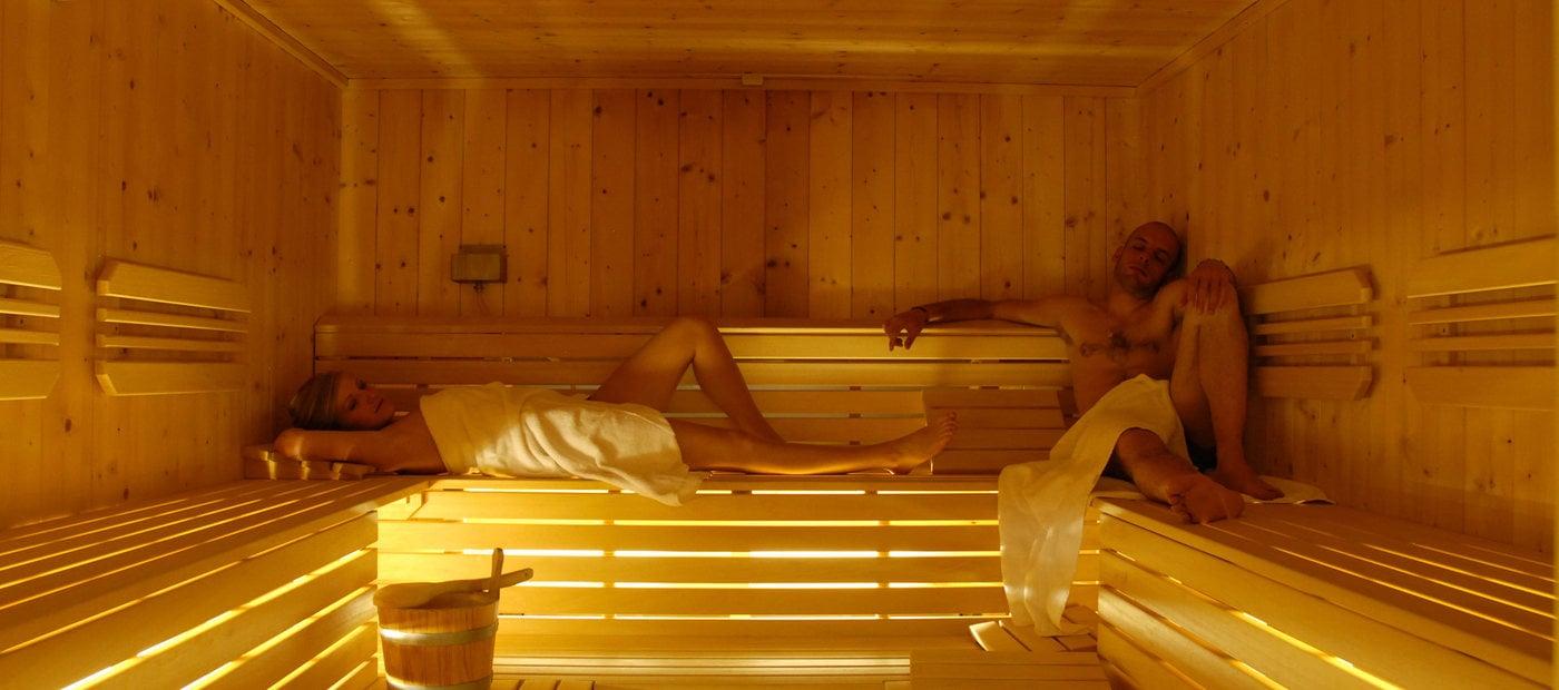 Sauna e Bagno Turco - Adamello Resort 4* a Ponte di Legno